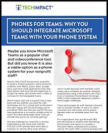 Phones for Teams Cover