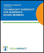 Technology Oversight Checklist for Board Members_Cover Image